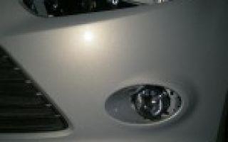 Противотуманные фары форд фокус 3: какие лампы, как их заменить