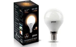 Gauss – производители светодиодных ламп