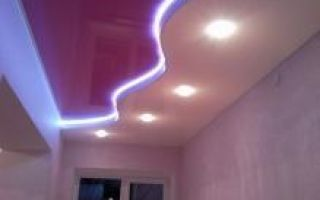 Cветодиодная подсветка потолка и плинтуса – как сделать самому и как она работает