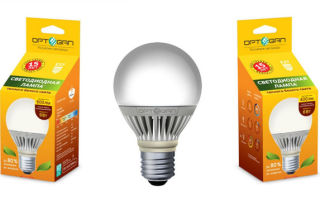 Оптоган – производители светодиодных ламп