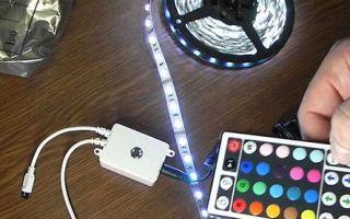 Почему светодиодная лента мигает или моргает