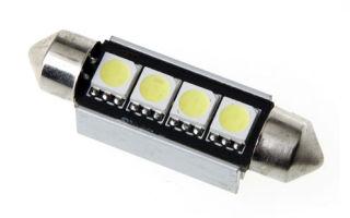 Подборка сигнальных и софитных светодиодных ламп для авто