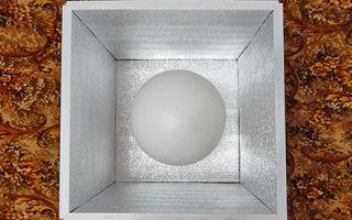 Прототипы сферы и куба для измерений светового потока