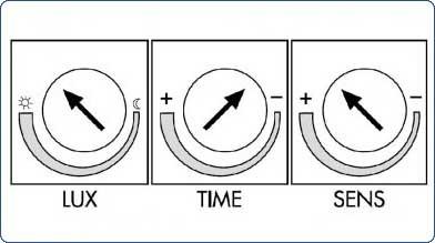Как настроить датчик движения (чувствительность, время, освещенность)