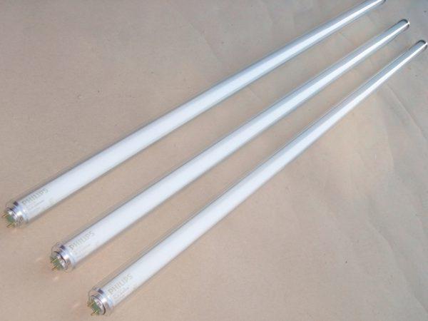 Лампа люминесцентная 36 вт: характеристики, длина, срок службы