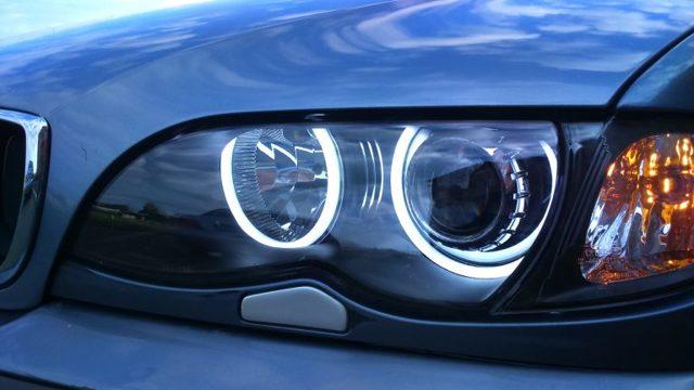 Ангельские глазки в фары авто: виды, штрафы, купить или сделать своими руками