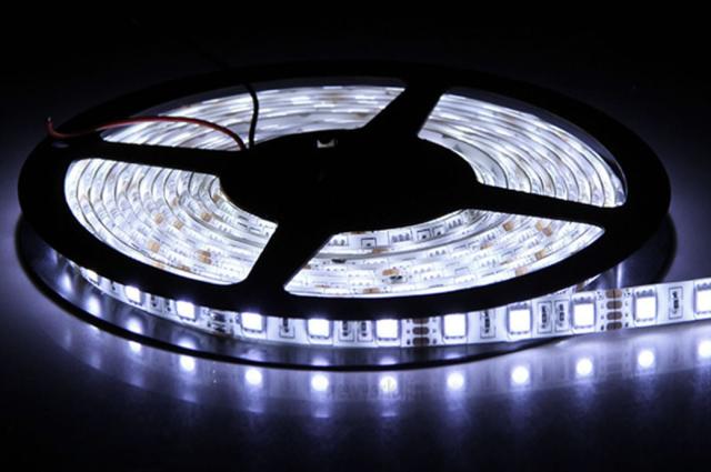 Светодиодная подсветка для кухни под шкафы: установка и подключение