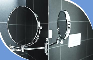 Зеркало в ванную с подсветкой - виды, особенности, выбор