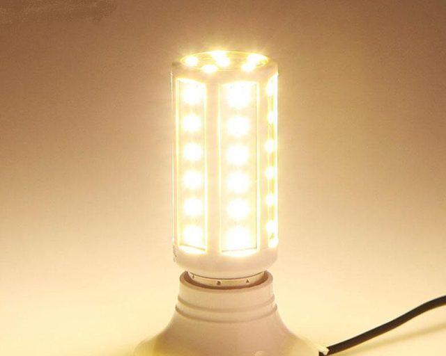 Светодиодная лампа кукуруза: основные плюсы и минусы