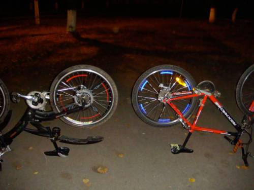 Подсветка для велосипеда своими руками. Как установить правильно