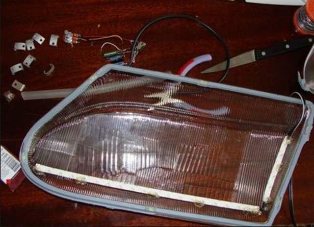 Светодиодная лента для тюнинга машины: как смонтировать и подключить
