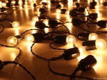 Гирлянда из лампочек в стиле ретро: схемы, идеи, как сделать