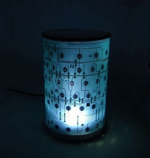 Светильник из светодиодной ленты своими руками