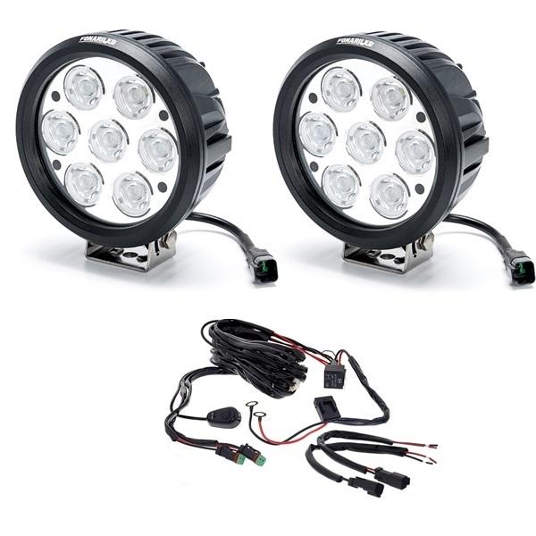 Противотуманные фары на светодиодах: лампы и готовые решения
