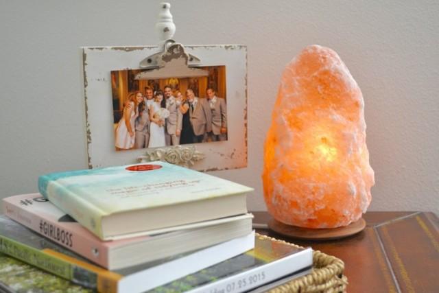 Соляная лампа своими руками