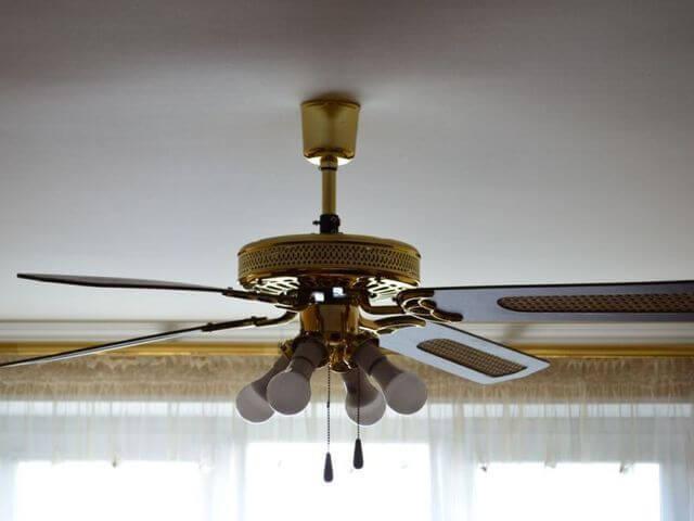Потолочная люстра вентилятор: какую выбрать и установить