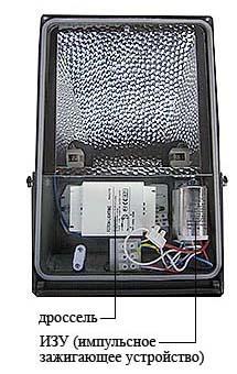 Металлогалогенные лампы: виды, схема подключения