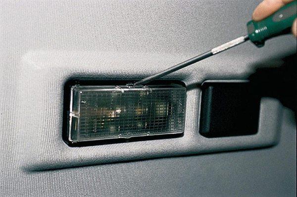 Не работает подсветка салона ваз 2110: замена ламп, схема подключения