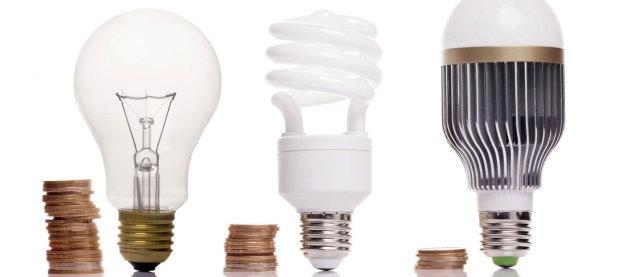 Мощность энергосберегающих ламп (таблица)