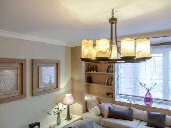 Потолочные люстры для низких потолков: какую выбрать (фото)