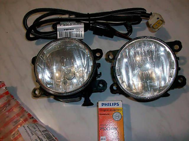 Замена ламп птф на рено логан первого и второго поколения