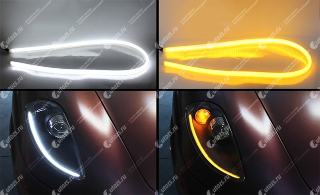 Установка ходовых огней на форд фокус 2: рестайлинг и дорестайл