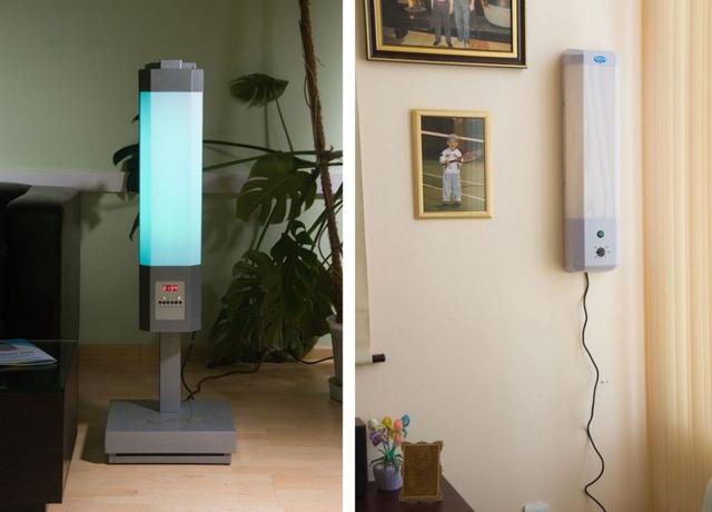 Кварцевая лампа для дома: вред и польза