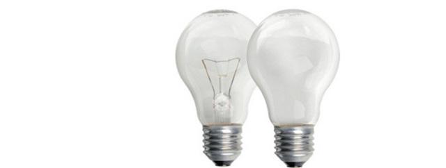 Характеристики ламп накаливания: световой поток и мощность