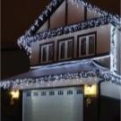 Светодиодные гирлянды: виды, для улицы и дома, как повесить (фото)