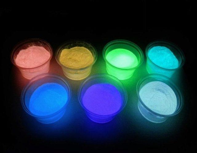 Флуоресцентная краска: что это такое и как применять