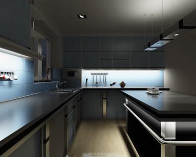Варианты подсветки для кухни: как сделать светодиодную