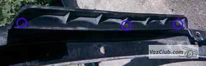 Установка и подключение противотуманных фар на ваз 2107