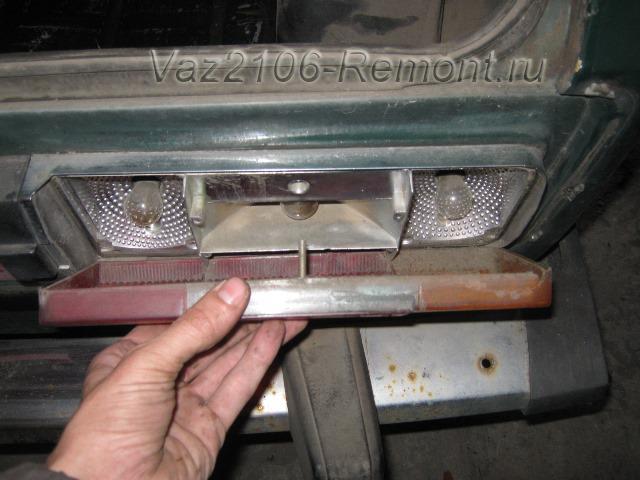Задние фонари ваз 2106: какие стоят лампы, что может замыкать