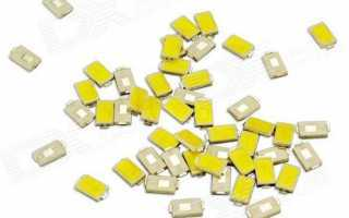Cветодиодные ленты и модули smd led 5730: характеристики, схемы