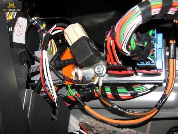 Птф на приоре: установка и подключение, замена ламп