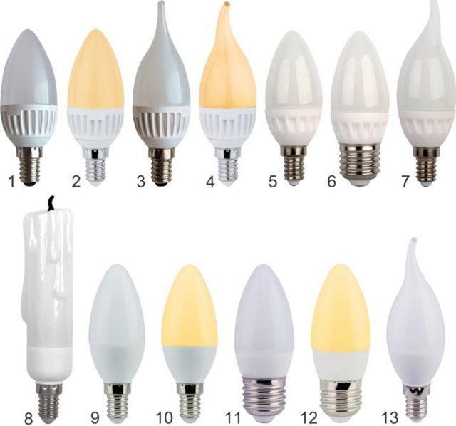 Светодиодные лампы и светильники ecola (обзор)